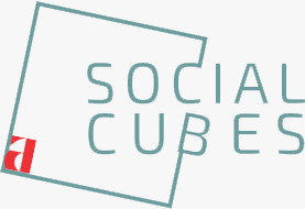 The Social Cubes Logo