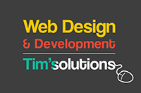Tim's Solutions - Freelance Web Designer