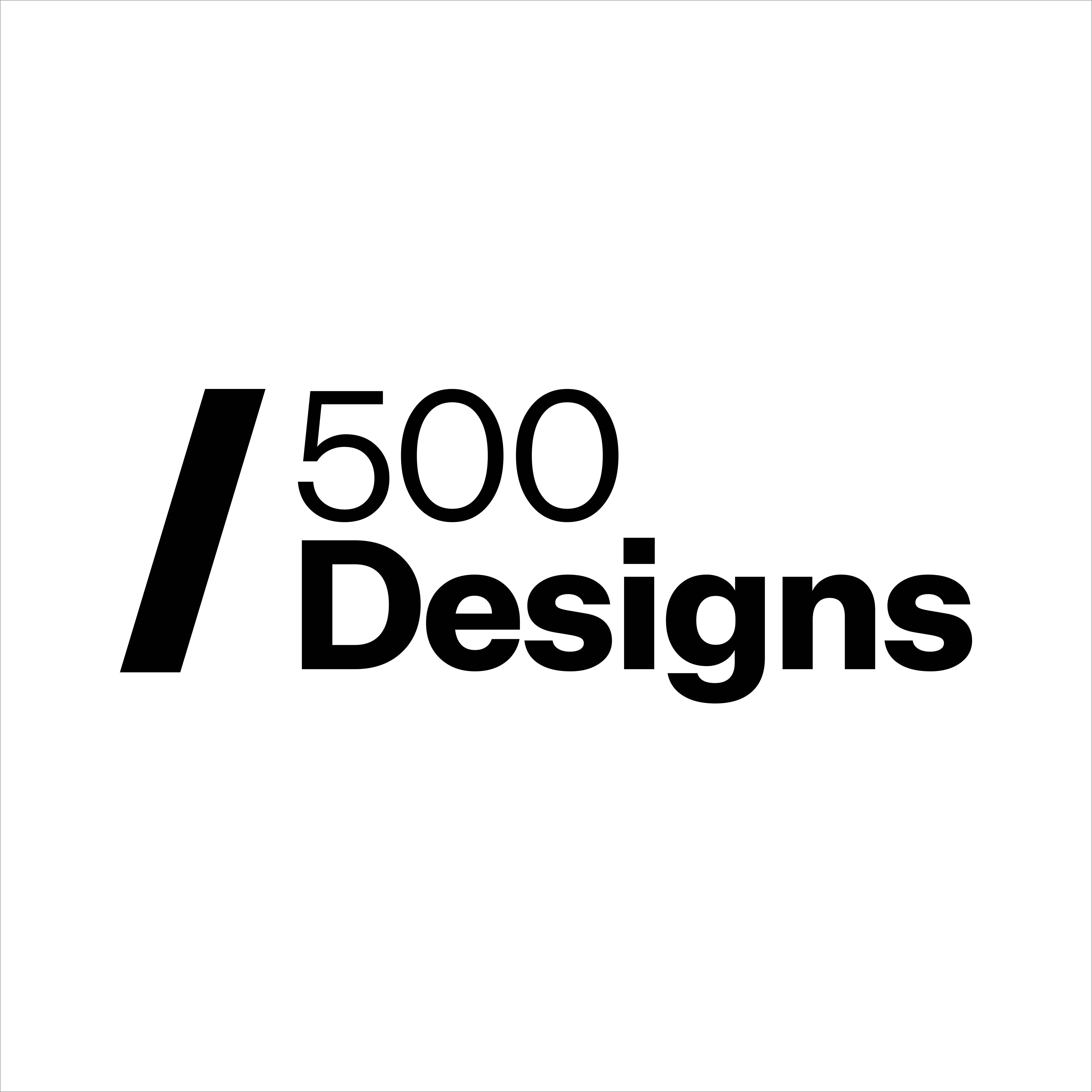 500 Designs