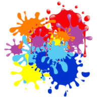 Splattered Paint Marketing